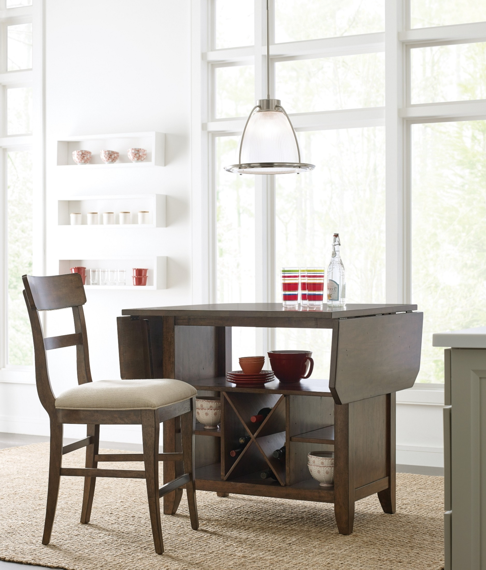 The Nook Maple Kitchen Island From Kincaid Furniture