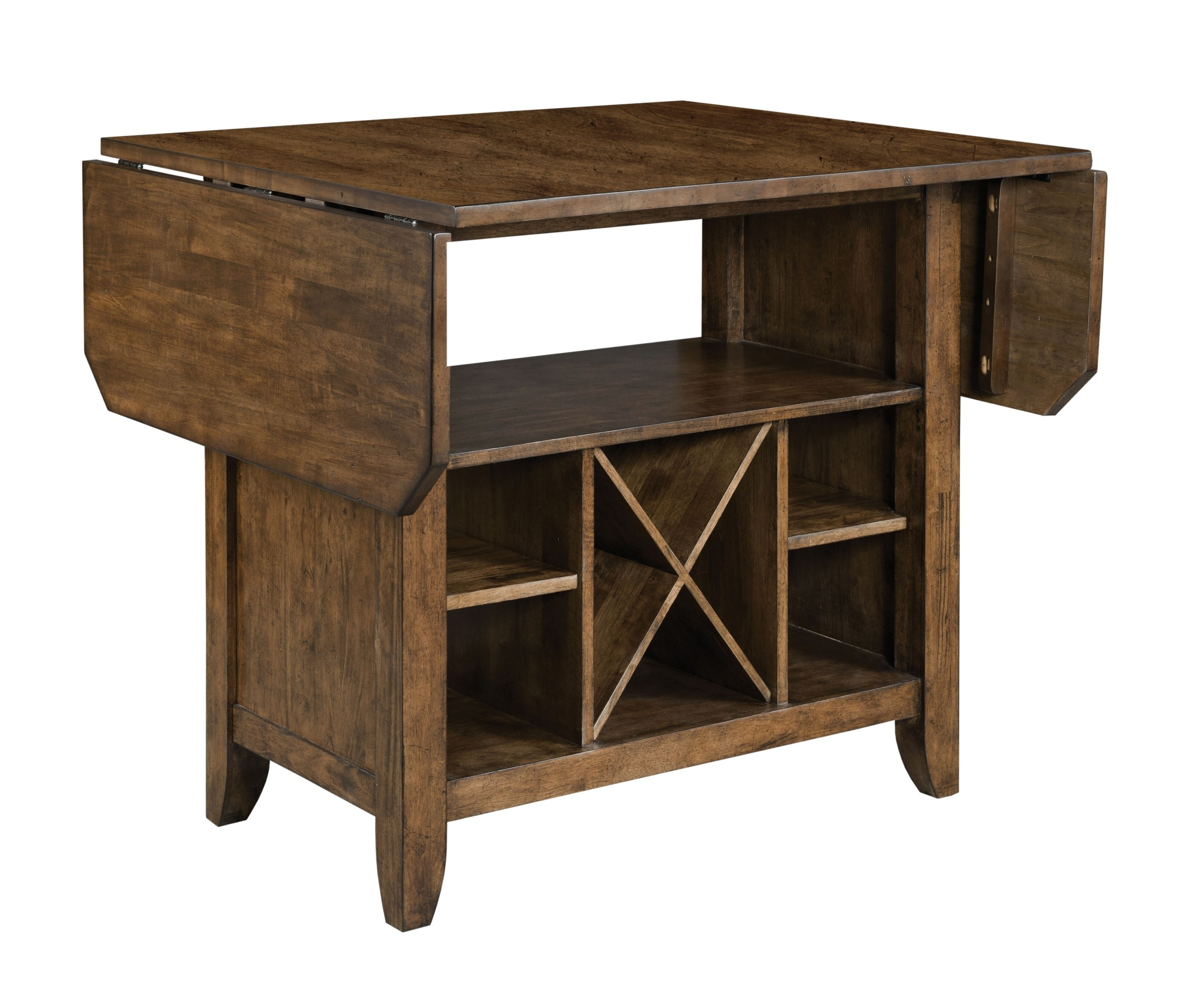 The Nook Maple Kitchen Island From Kincaid Furniture Coleman Furniture