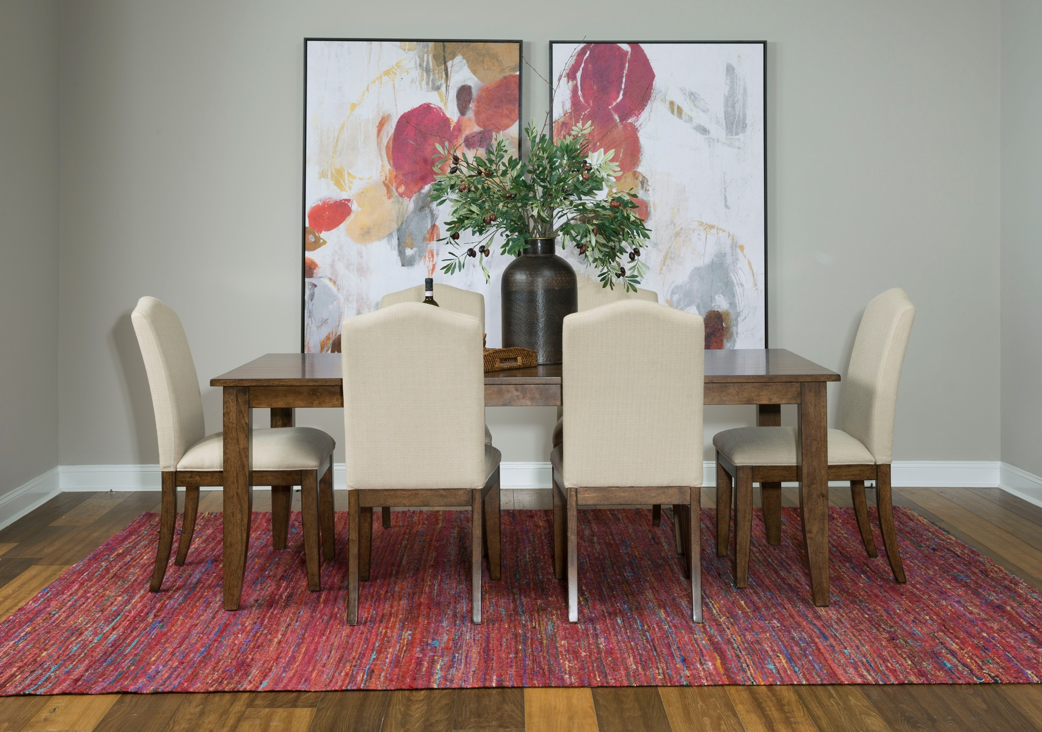 The Nook Maple 80 Quot Dining Room Set From Kincaid Furniture