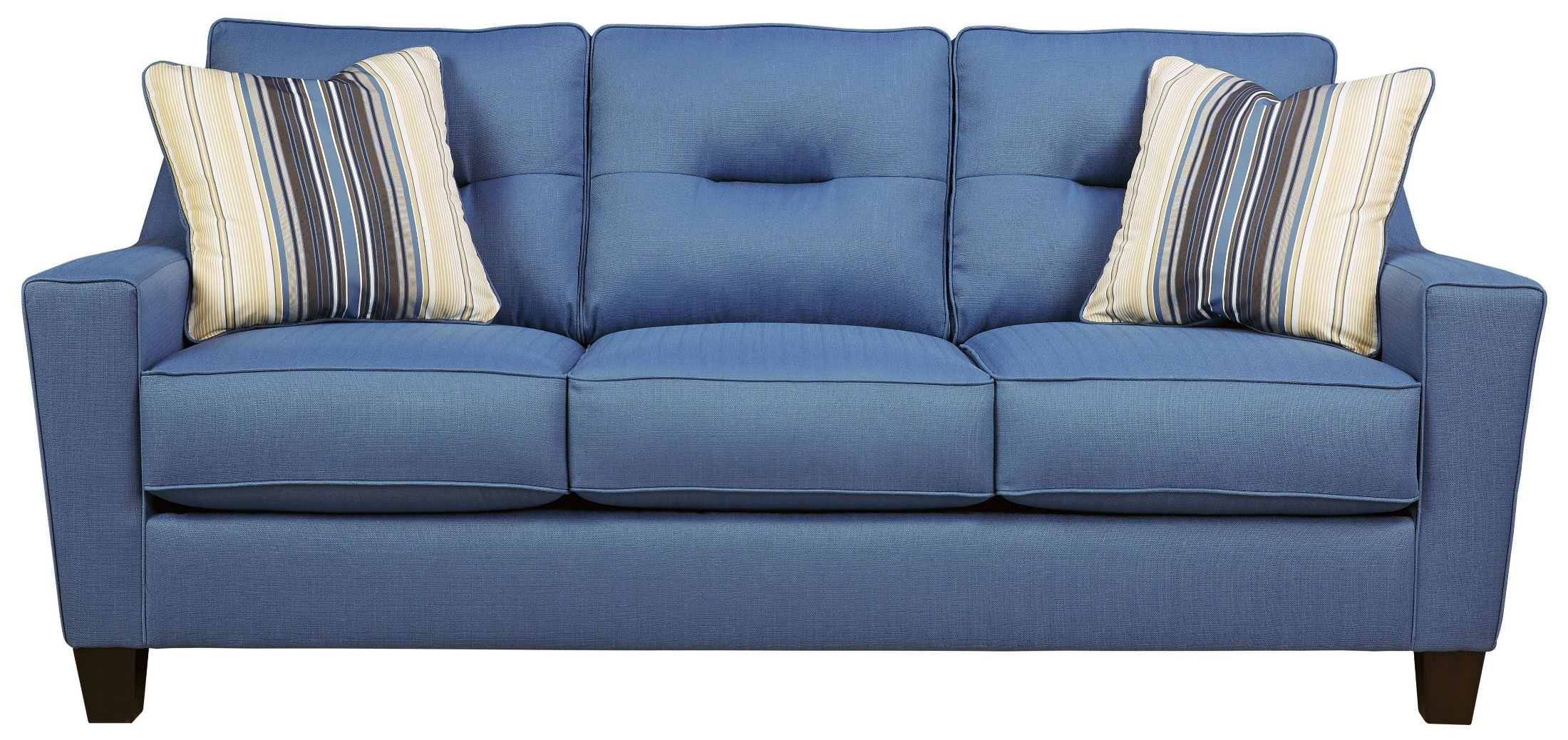 Forsan Nuvella Blue Queen Sofa Sleeper From Ashley