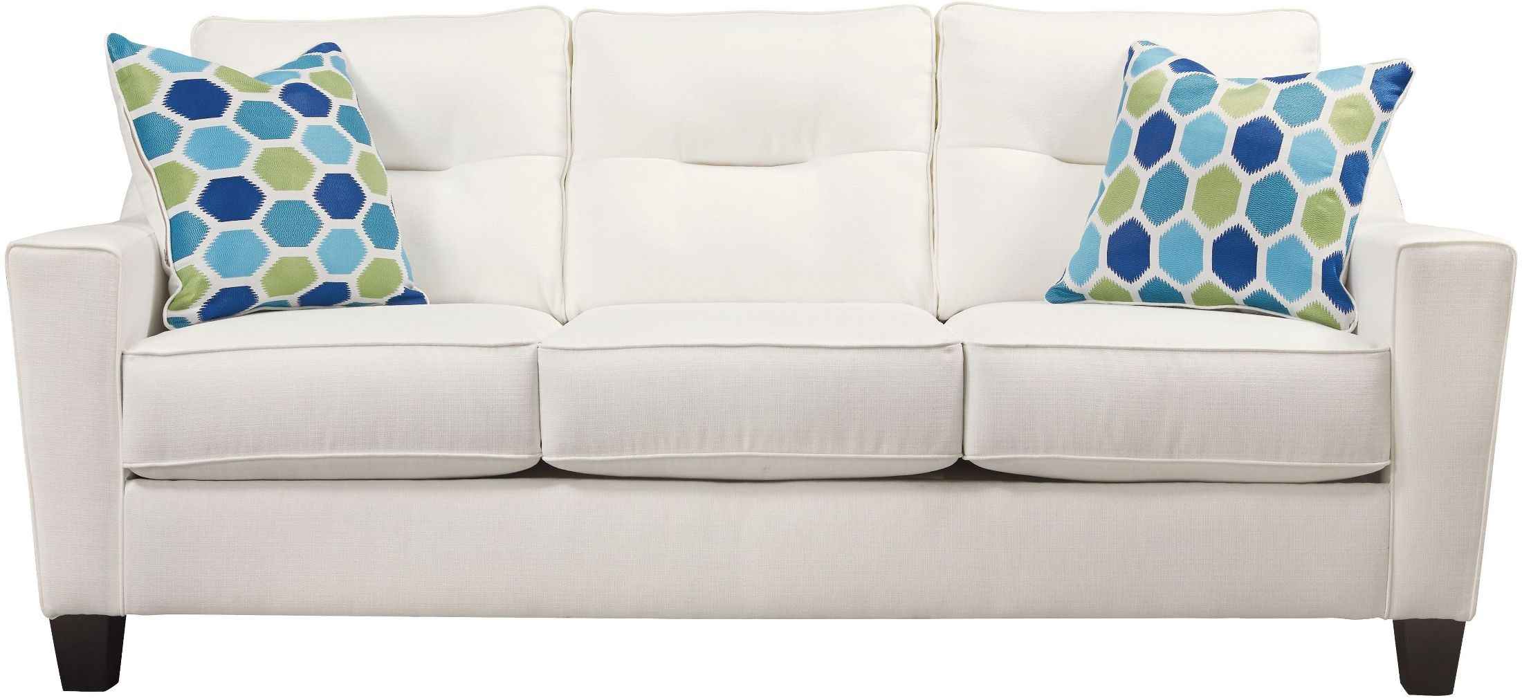 Forsan Nuvella White Sofa From Ashley Coleman Furniture