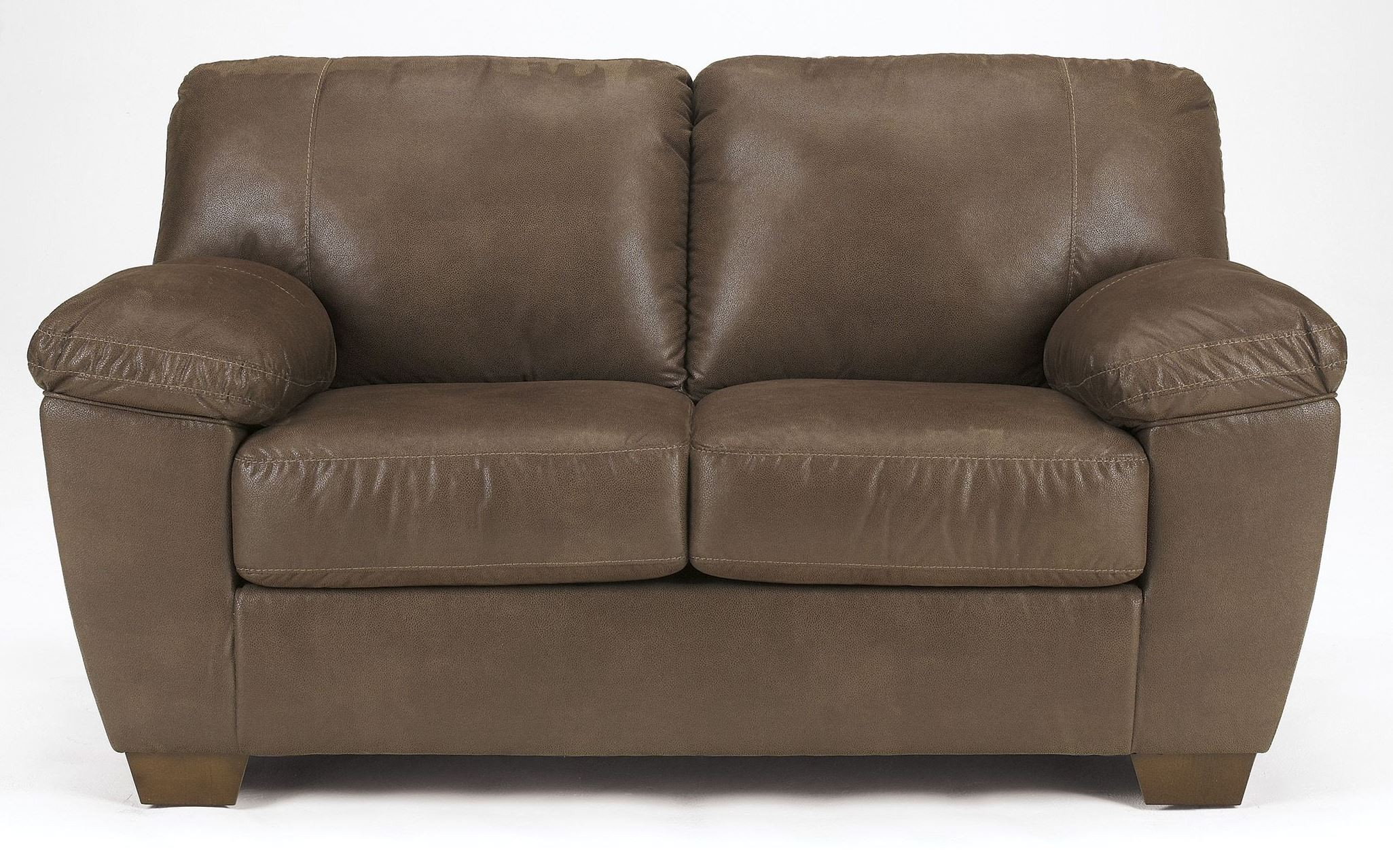 Amazon Walnut Loveseat From Ashley 6750535 Coleman
