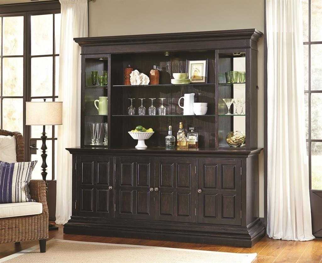 burton back bar base from pulaski 675902 coleman furniture 626482
