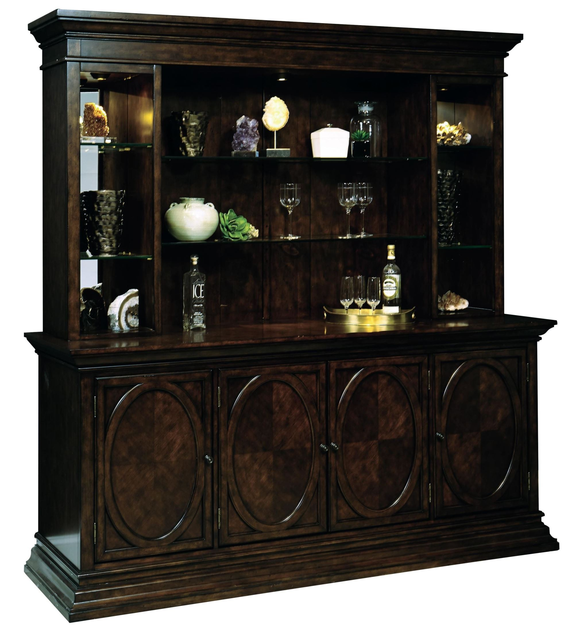 Westford Bar Cabinet With Piers From Pulaski (675912-14-13