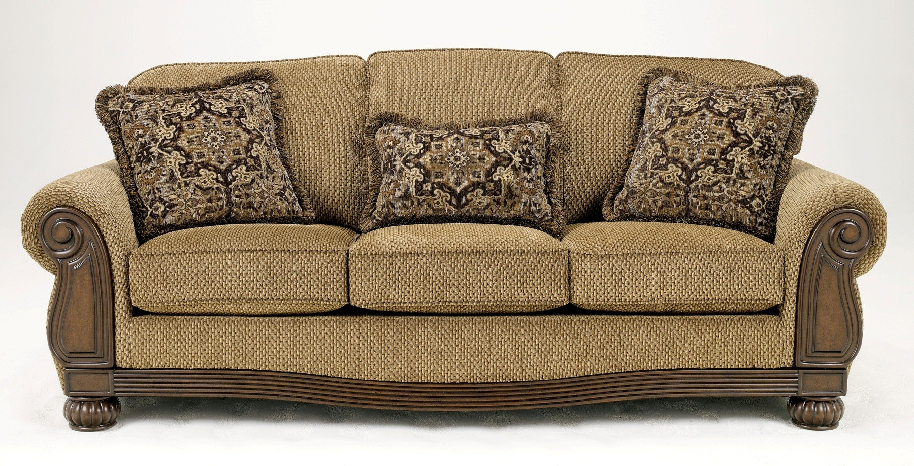 Ashley Lynnwood Amber Queen Sofa Sleeper - 6850039 - Furniture