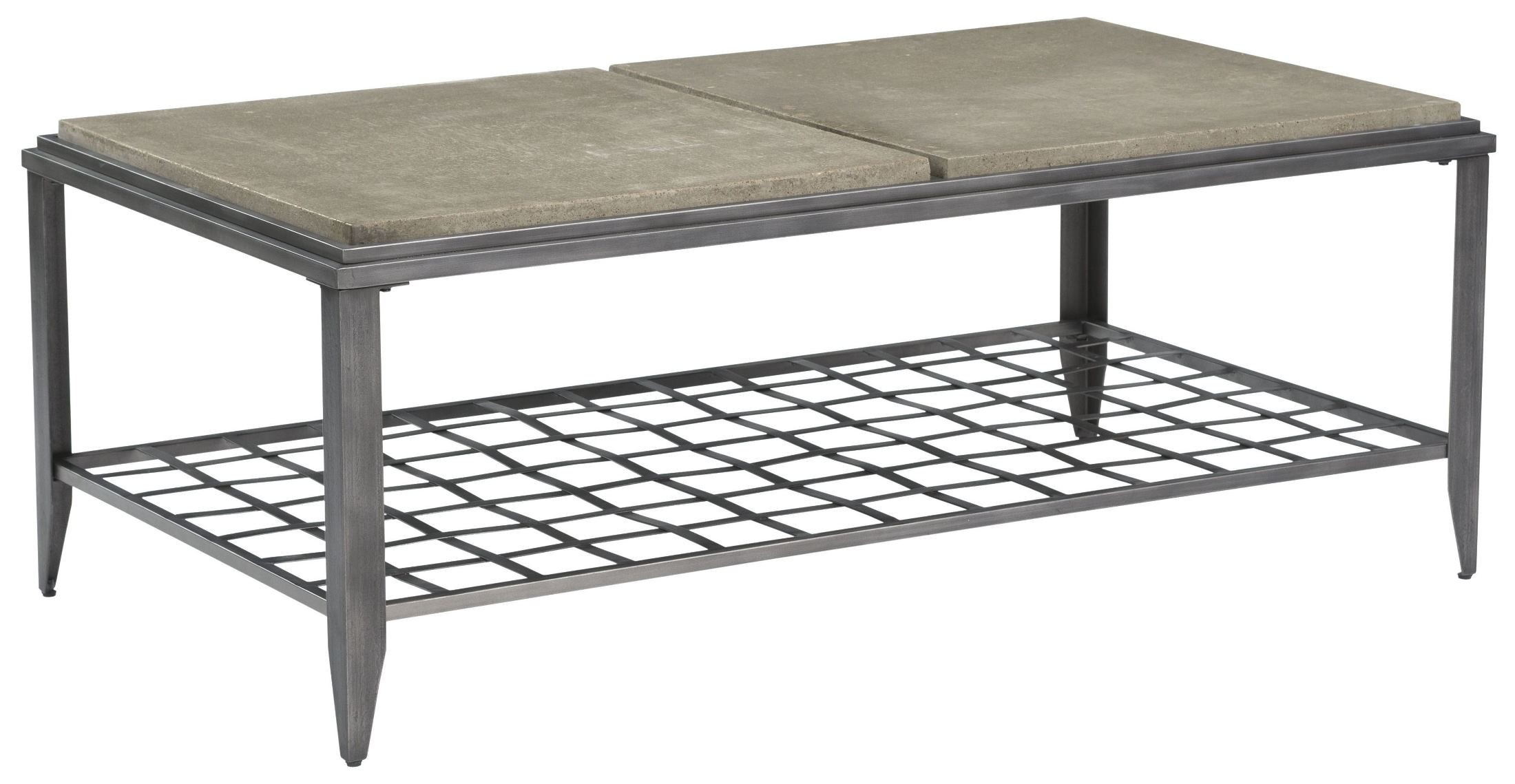 Modern classics grid rectangular cocktail table from for Modern classic table