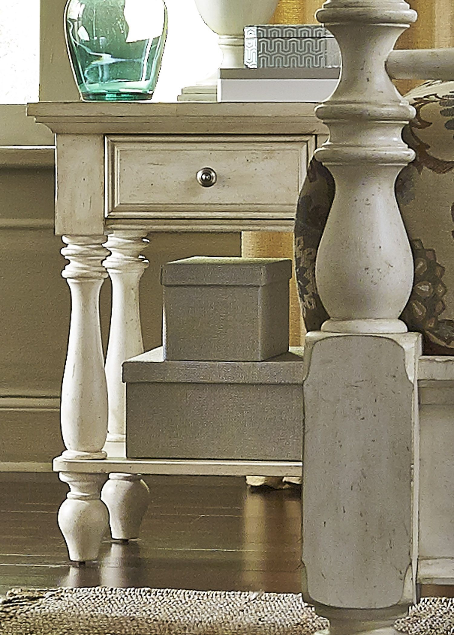 high country white poster bedroom set from liberty 697 br qps 774286