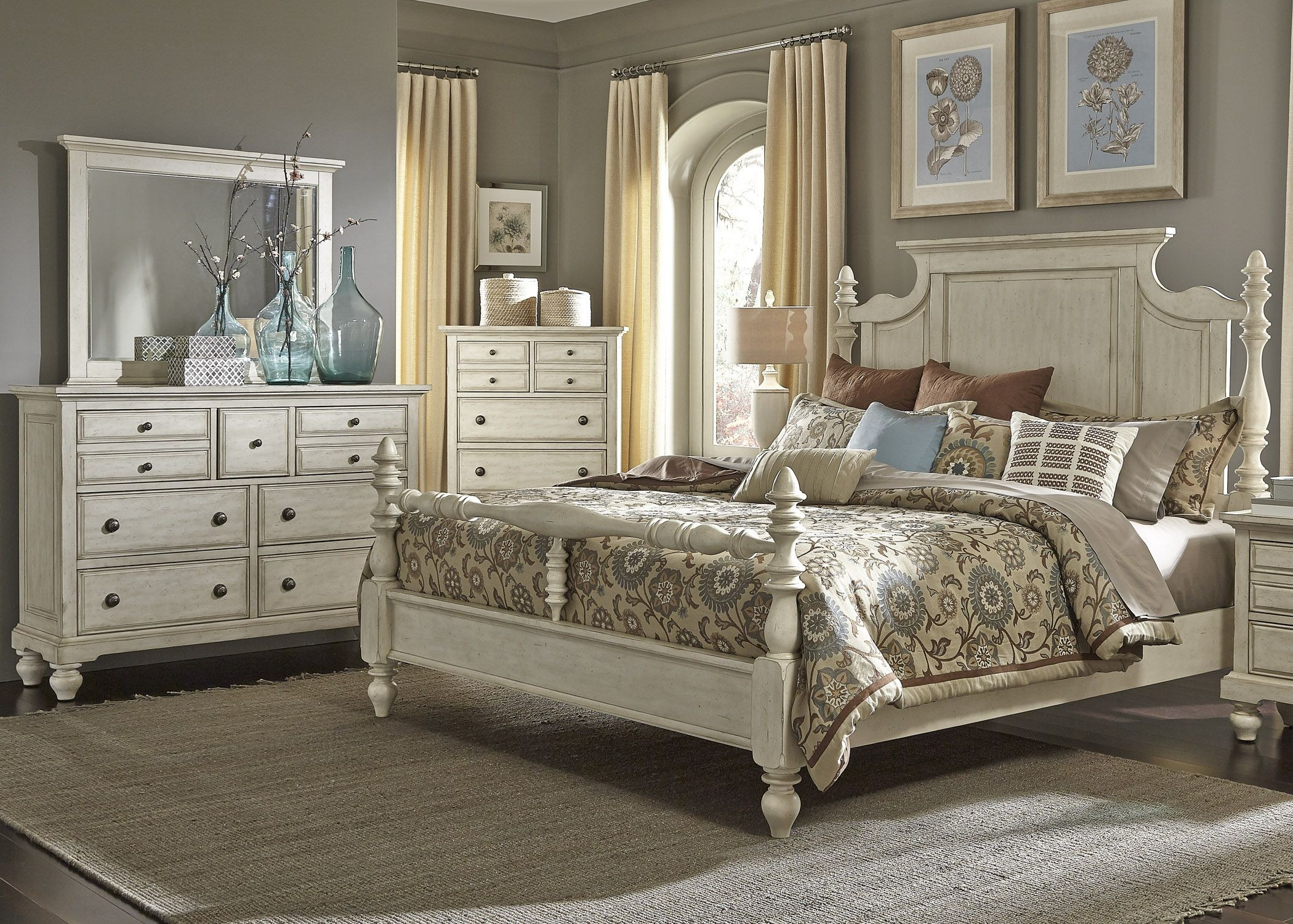liberty bedroom furniture high country white poster bedroom set from liberty 697 br 12082