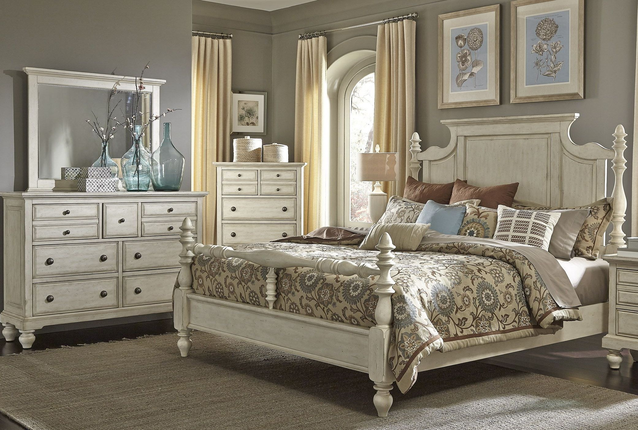 poster bedroom set high country white poster bedroom set from liberty 697 br 12927