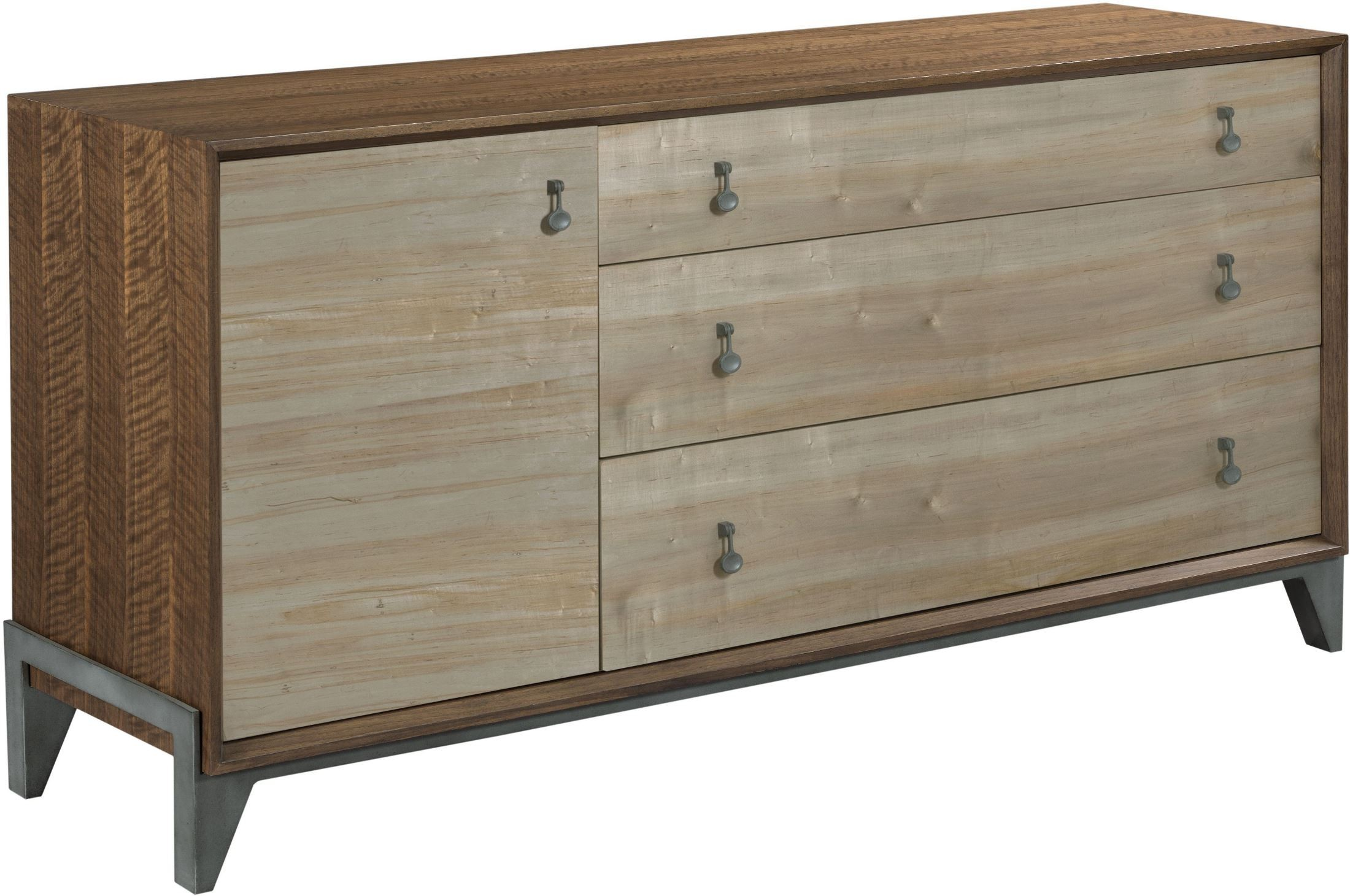 Ad modern synergy maple nouveau dresser from american drew - Contemporary maple bedroom furniture ...
