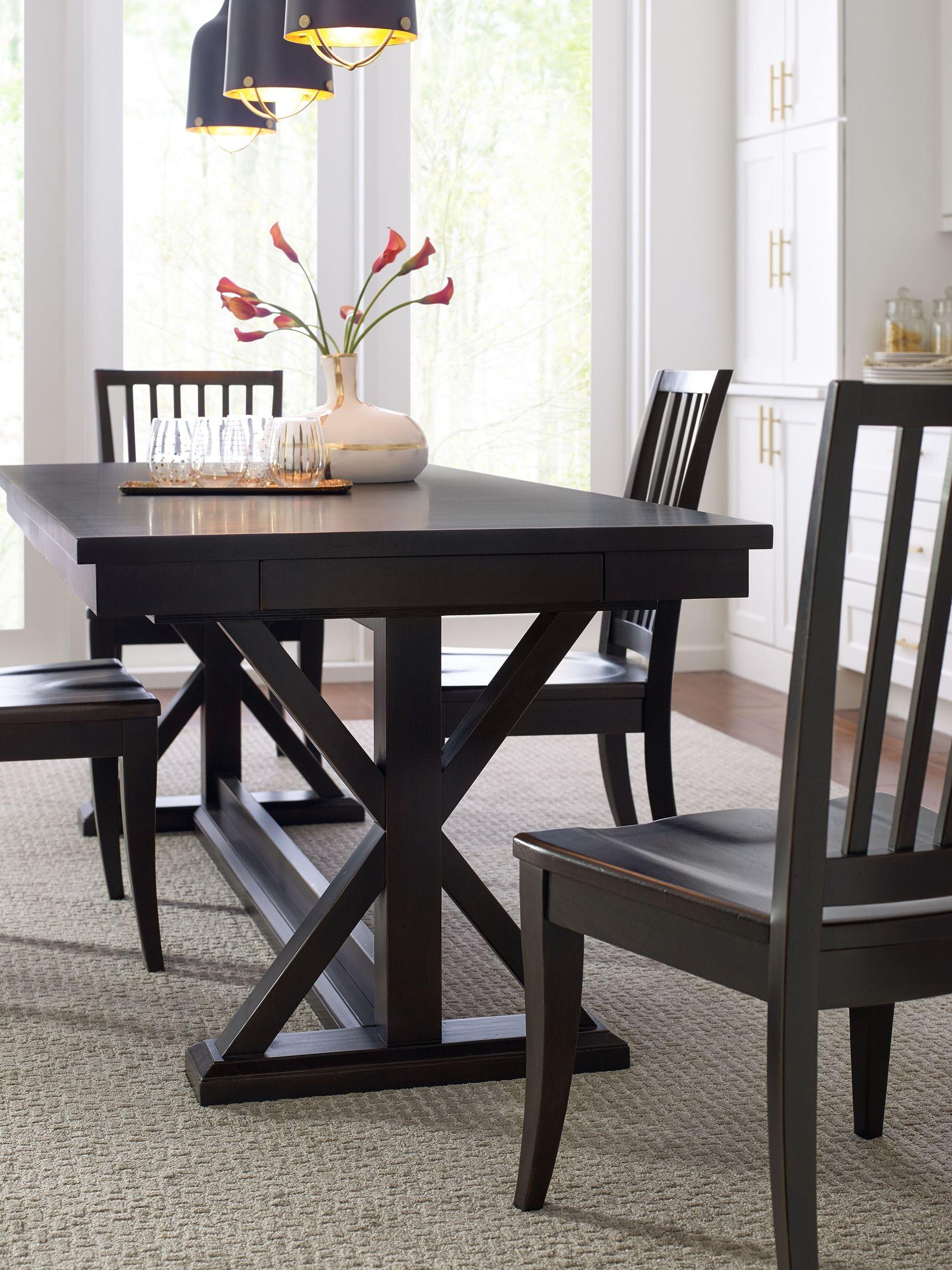 Everyday Sea Salt Trestle Dining Table From Racheal Ray