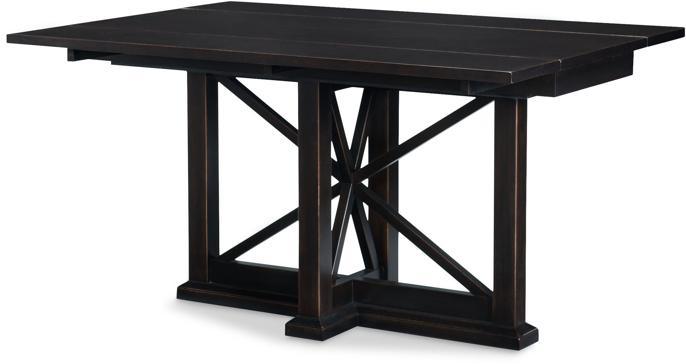 Everyday sea salt drop leaf console extendable dining table from racheal ray - Console table extensible ...