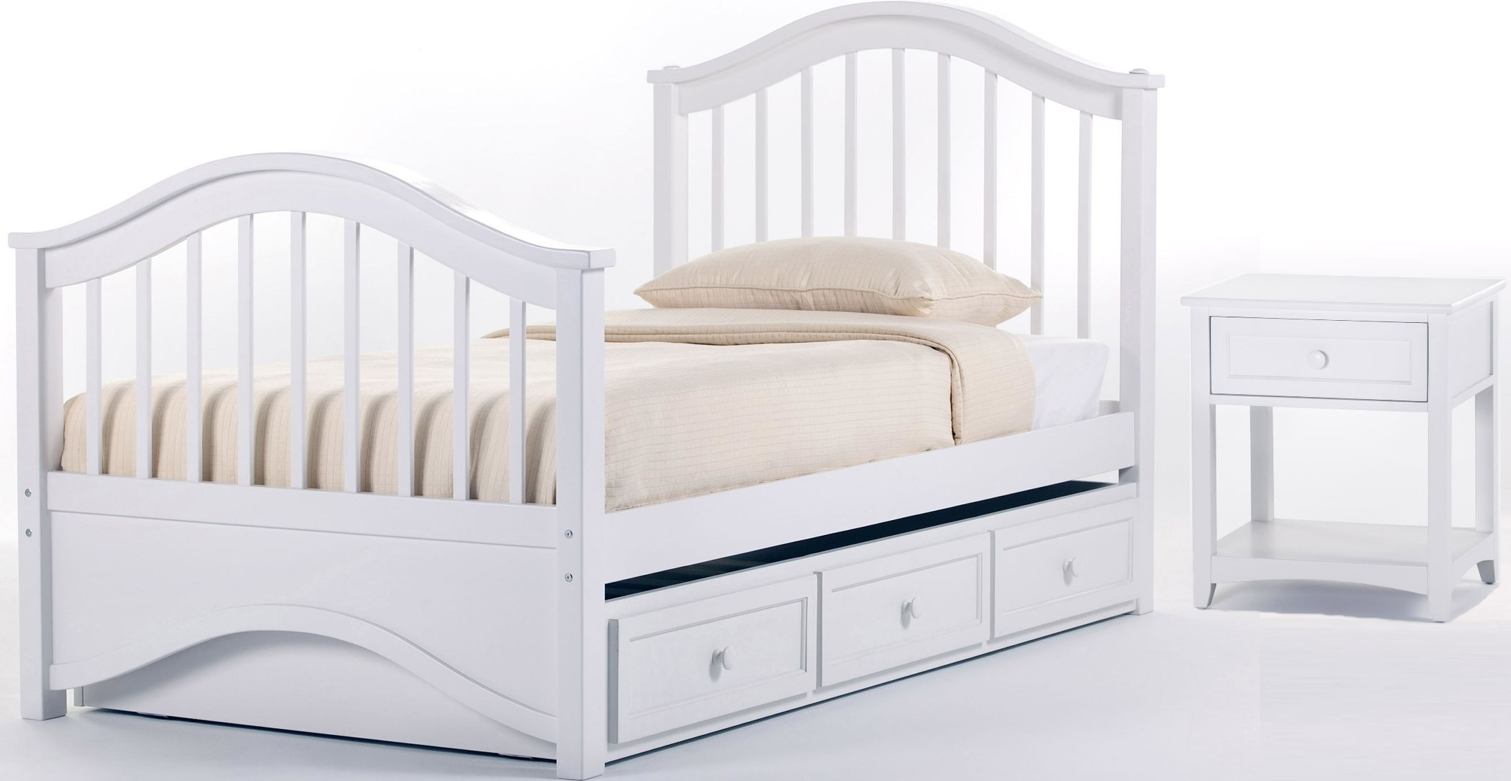 School house white jordan twin panel bed with trundle from ne kids coleman furniture White twin trundle bedroom set