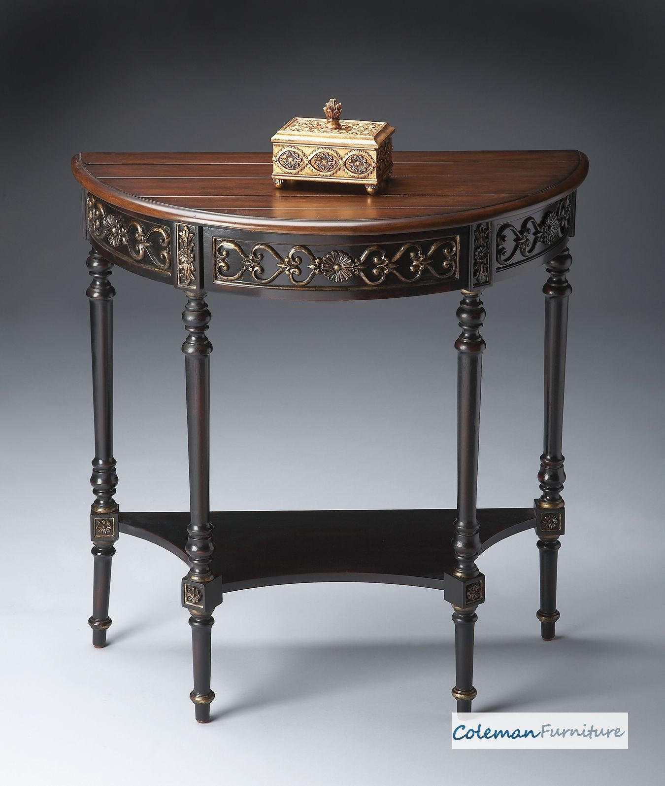 Cafe Nouveau Demilune Console Table From Butler 7027218