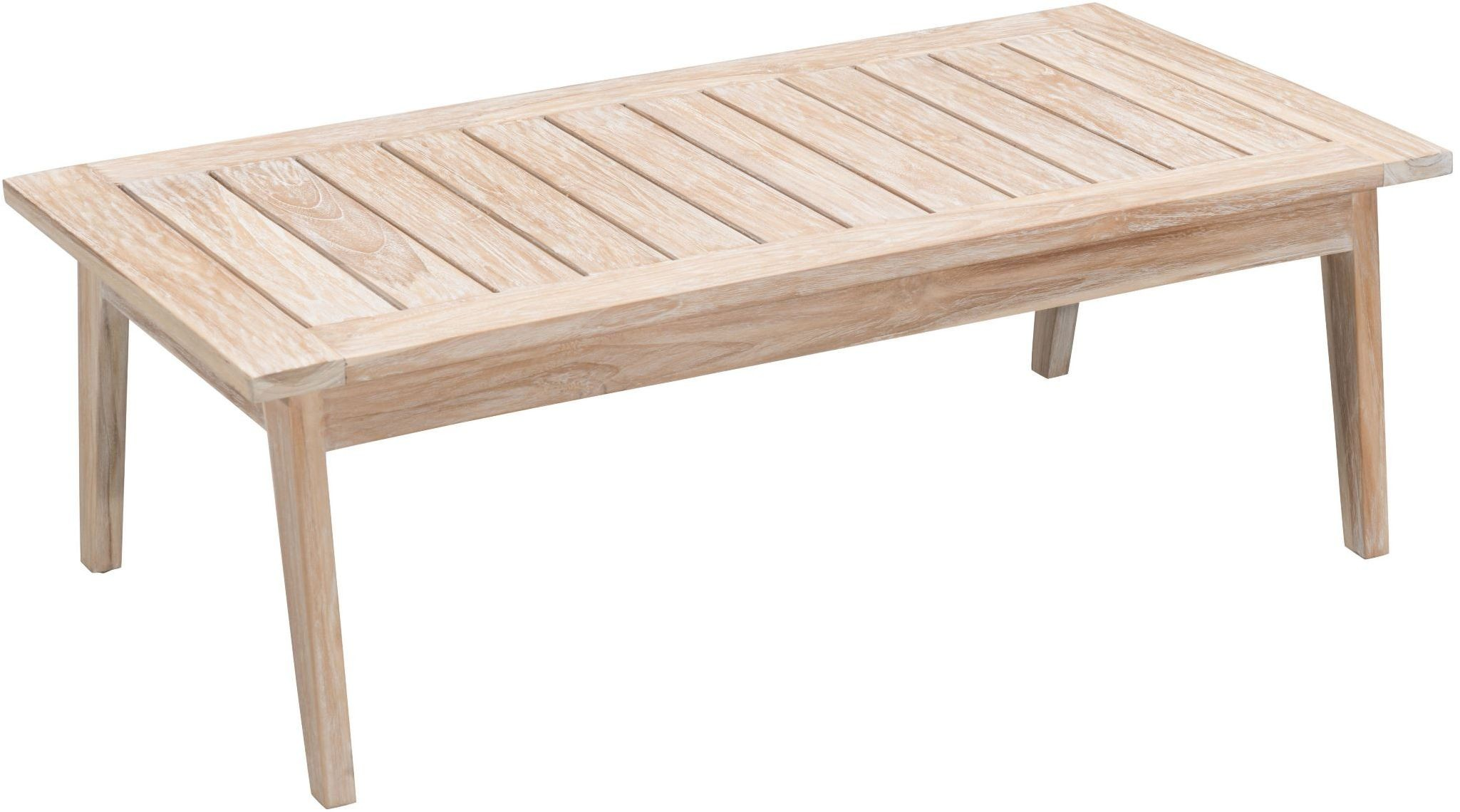 West Port White Wash Coffee Table From Zuo Coleman Furniture