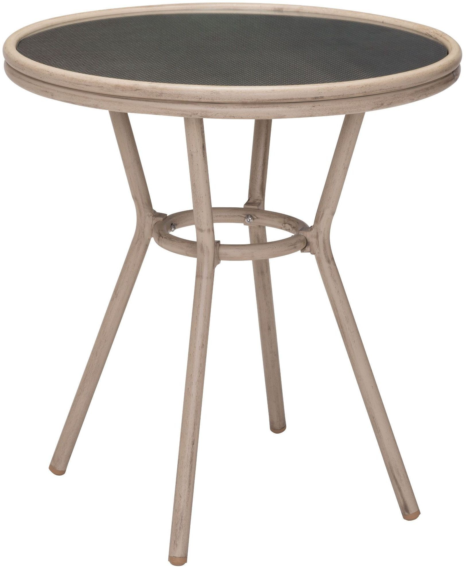 Marseilles dark brown bistro table from zuo coleman for Table 7 bistro