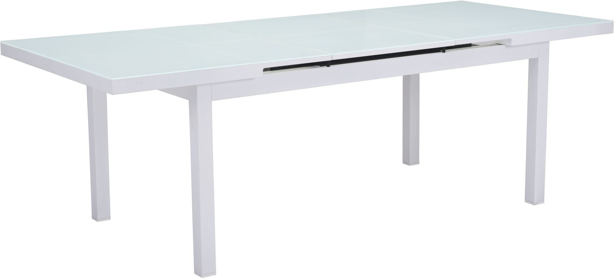 Mayakoba White Extendable Dining Table From Zuo Coleman