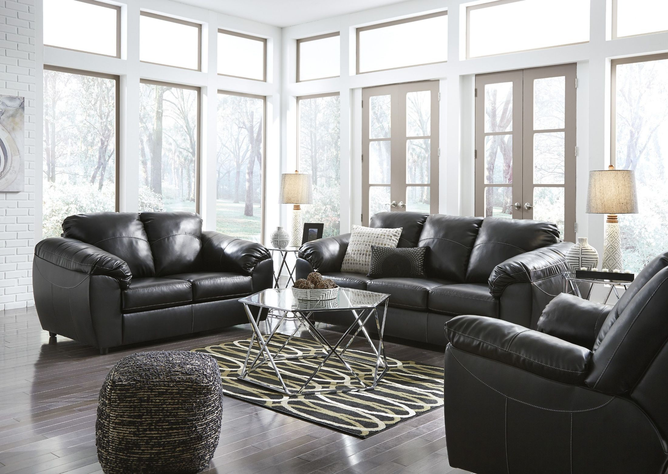 Fezzman Onyx Living Room Set from Ashley | Coleman Furniture