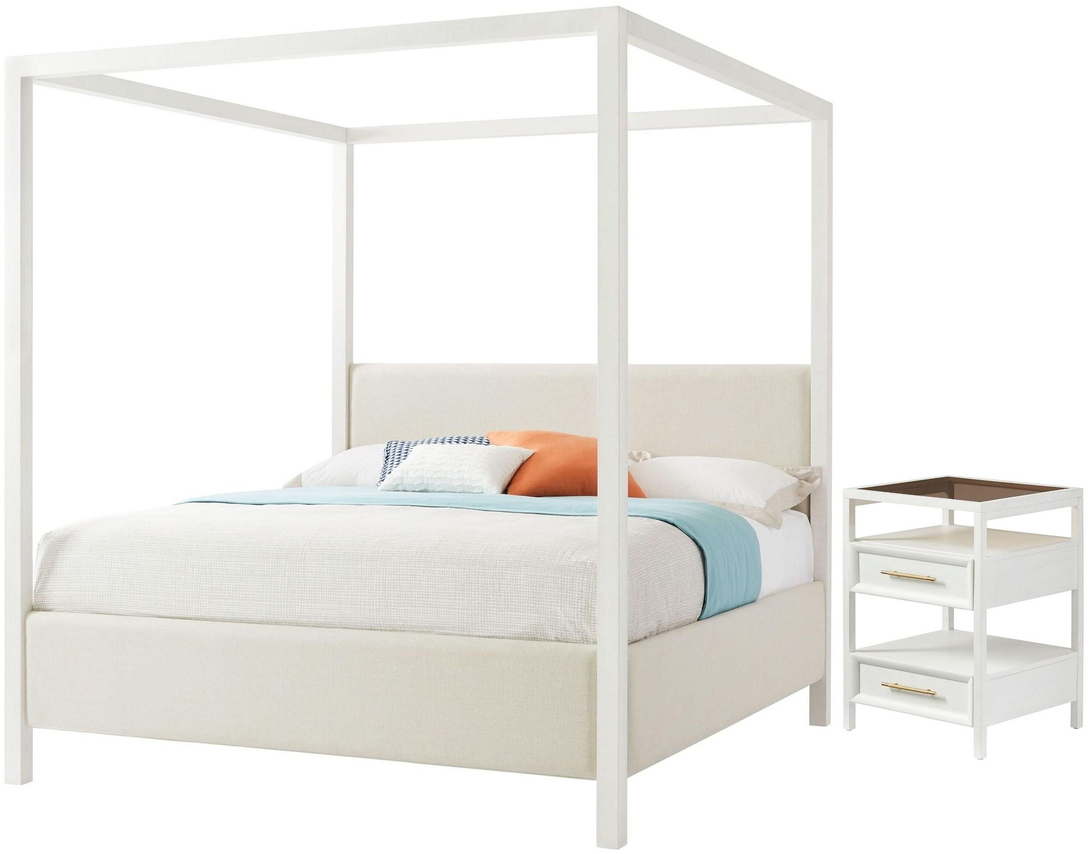 archetype furniture. Panavista Alabaster Archetype Canopy Bedroom Set From Stanley | Coleman Furniture