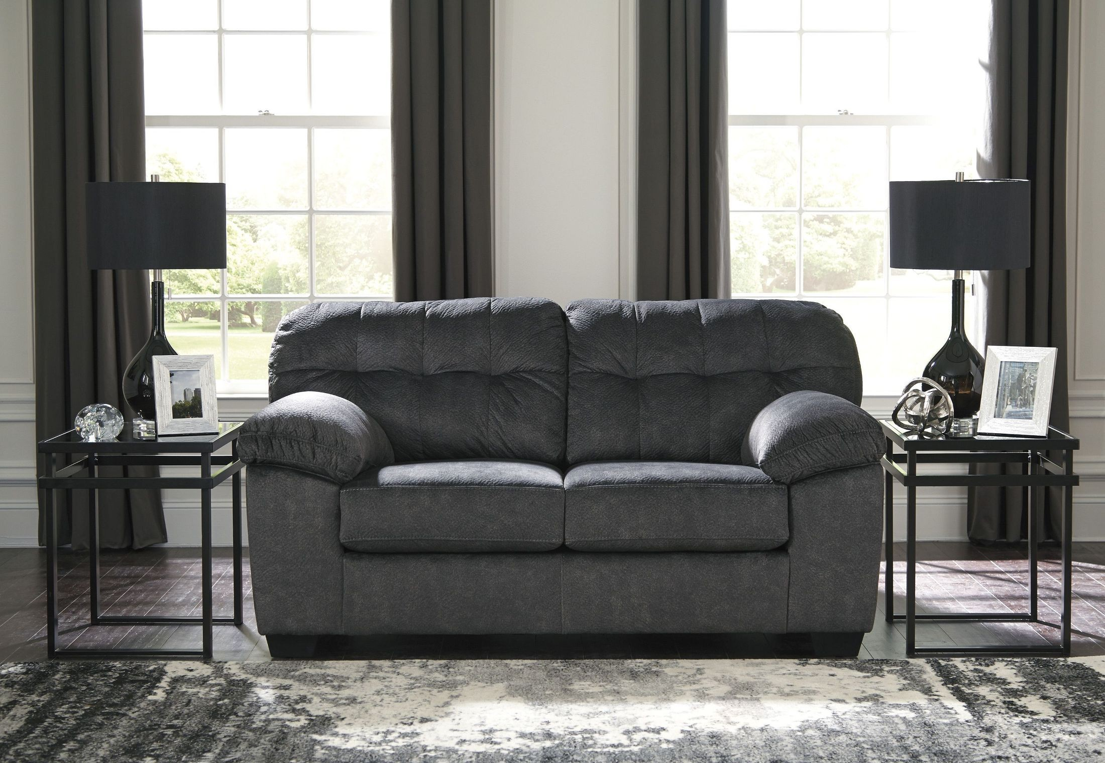 Accrington Granite Loveseat From Ashley Coleman Furniture ~ Sofa And Matching Loveseat