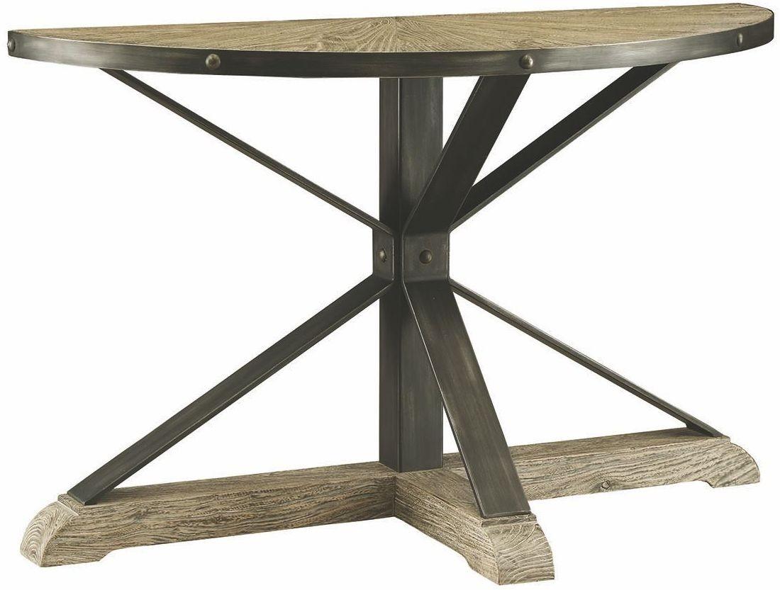 Rhett gray sofa table from coaster coleman furniture for Sofa table grey