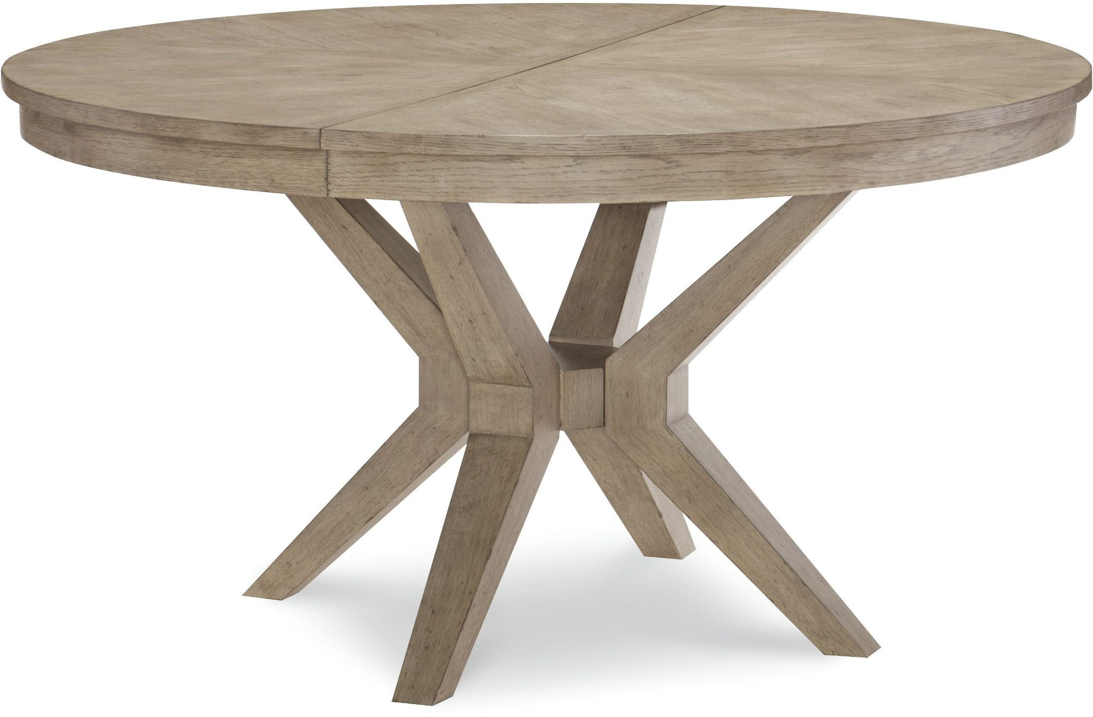 Bridgewater round leg dining table from legacy classic for One leg dining table