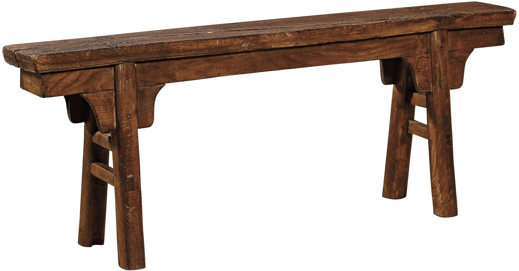 Peasant Brown Bench From Furniture Classics Coleman Furniture