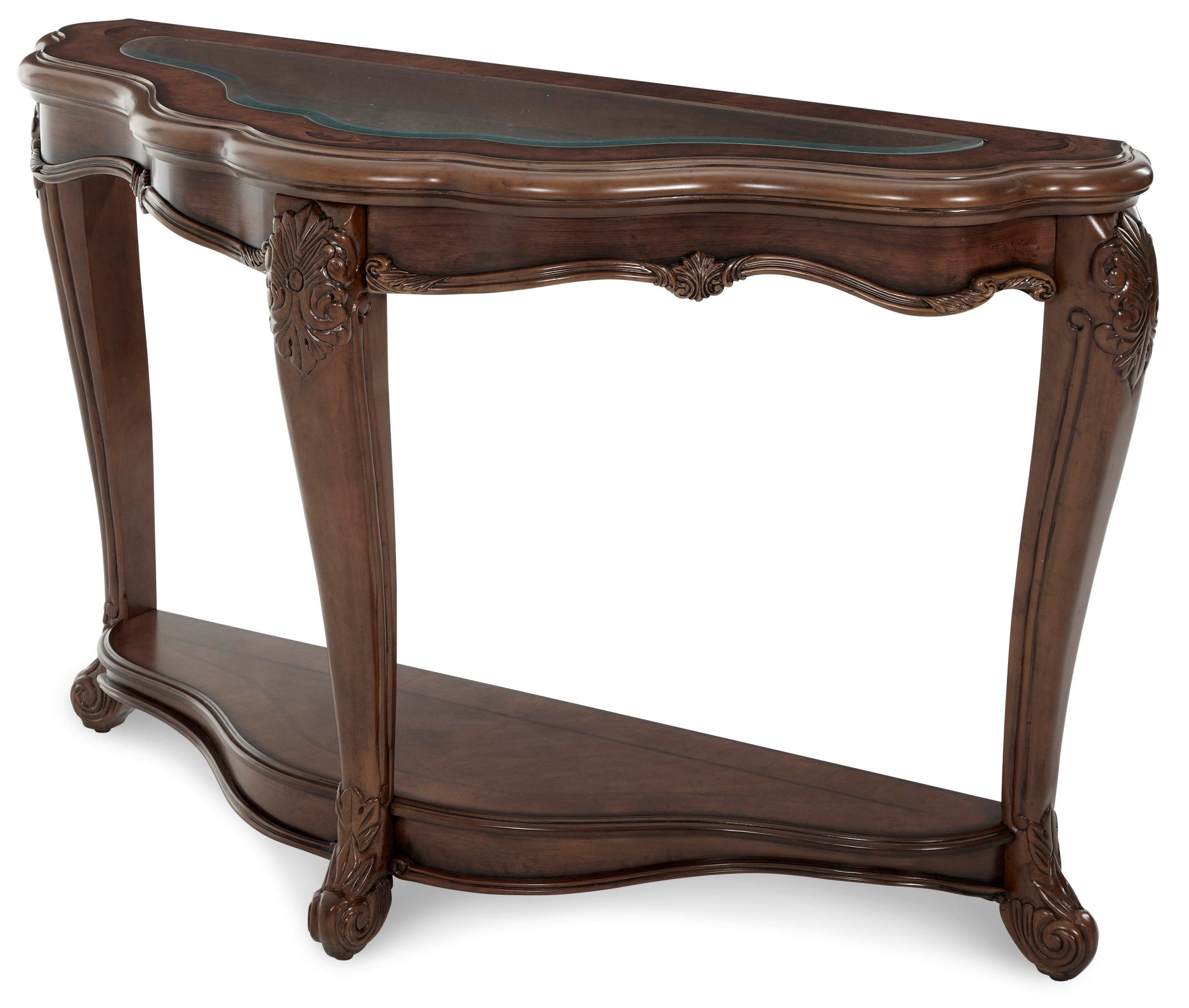 Palais royale sofa table from aico 71203 35 coleman for 35 console table