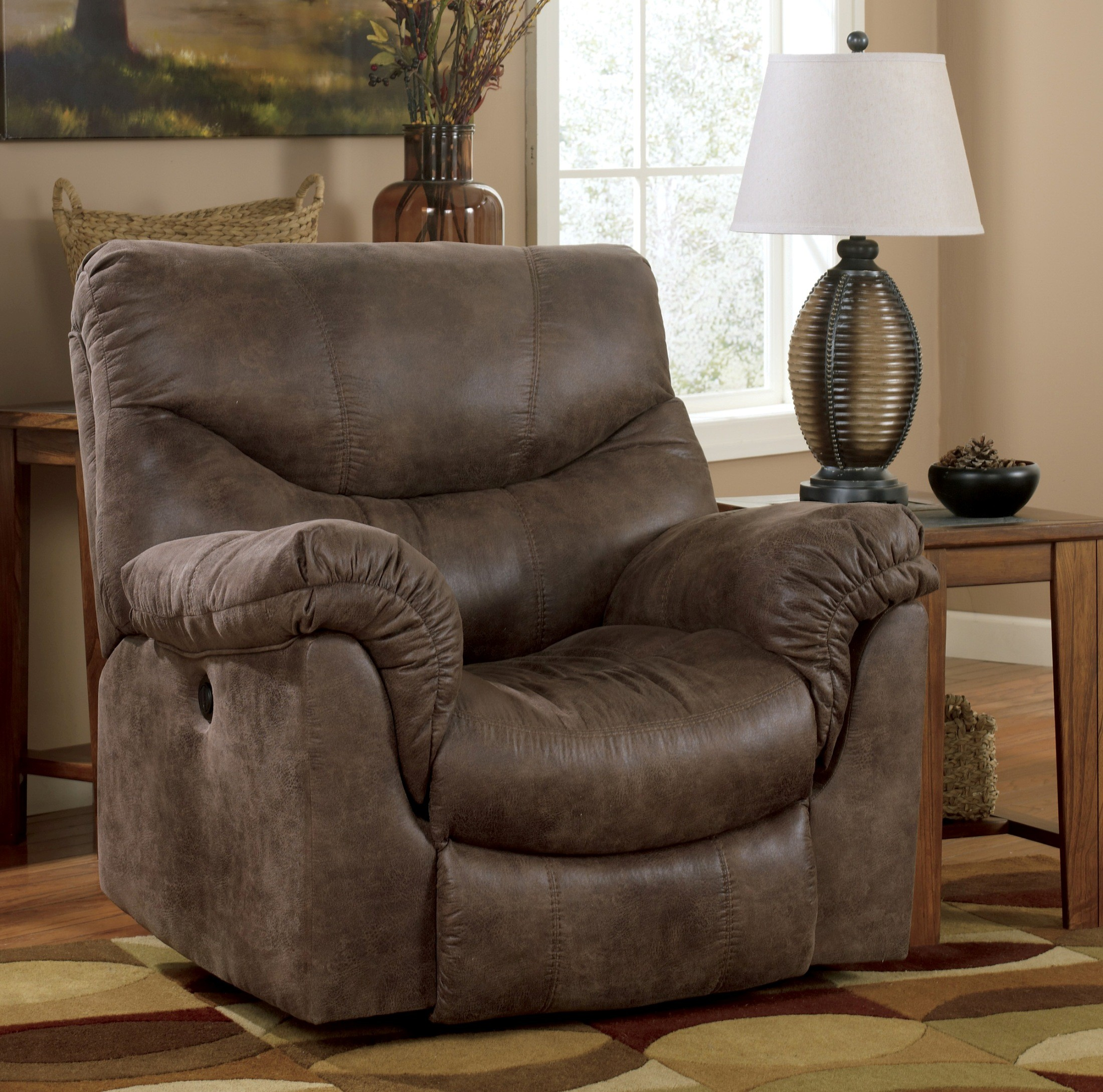 Furniture Stores Chairs: Alzena Rocker Recliner From Ashley (7140025)