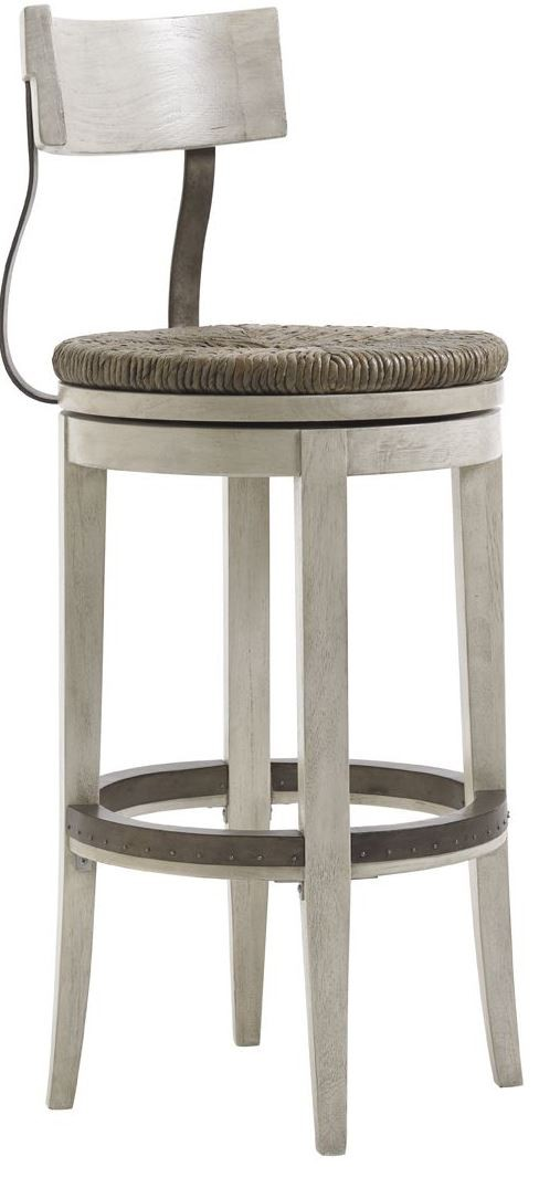 Oyster Bay Merrick Swivel Bar Stool From Lexington 01