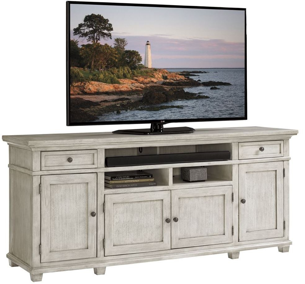 Oyster Bay Kings Point Large Media Console From Lexington
