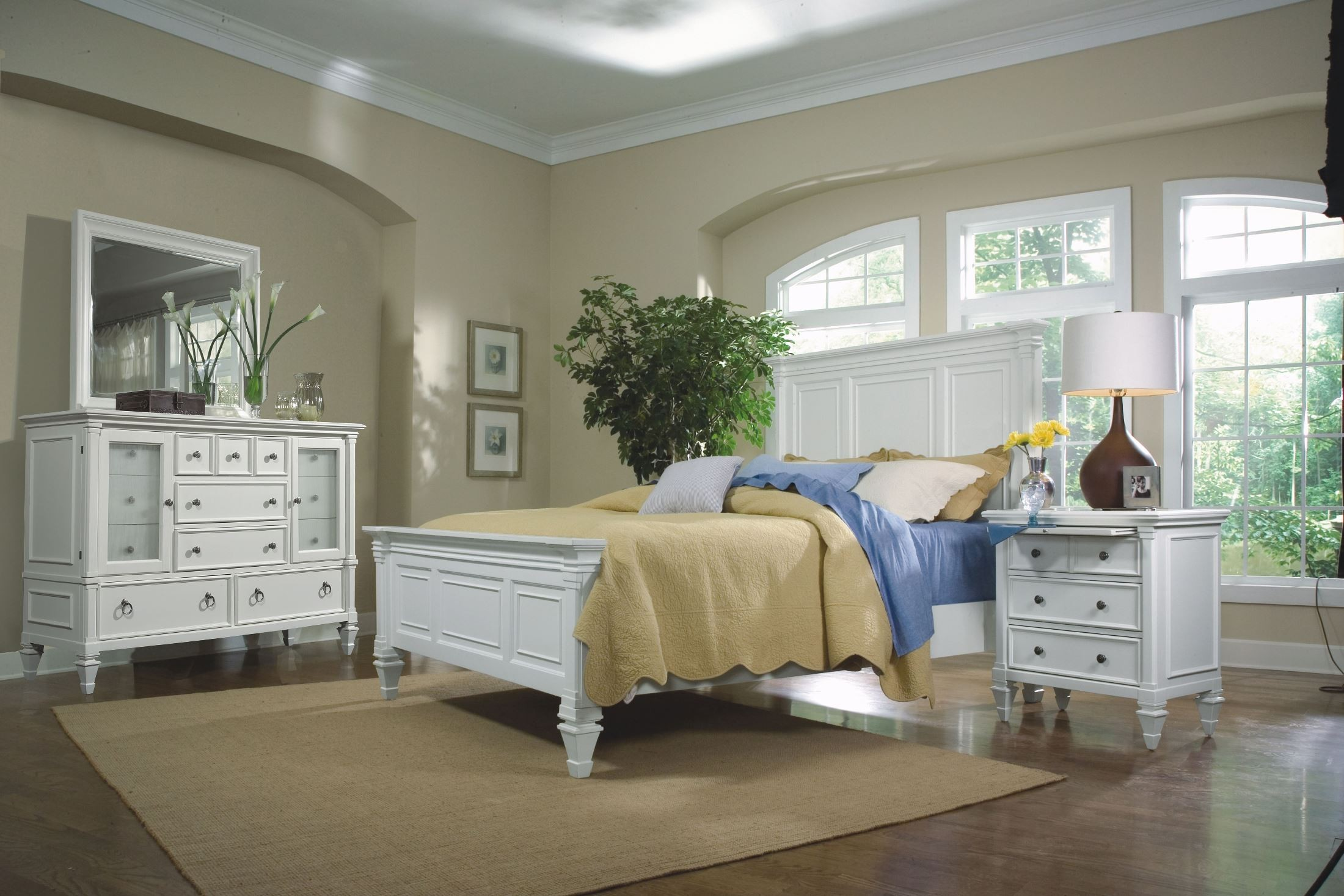 Ashby Youth Panel Bedroom Set From Magnussen Home (71960FHB FFB FRL)    Coleman Furniture