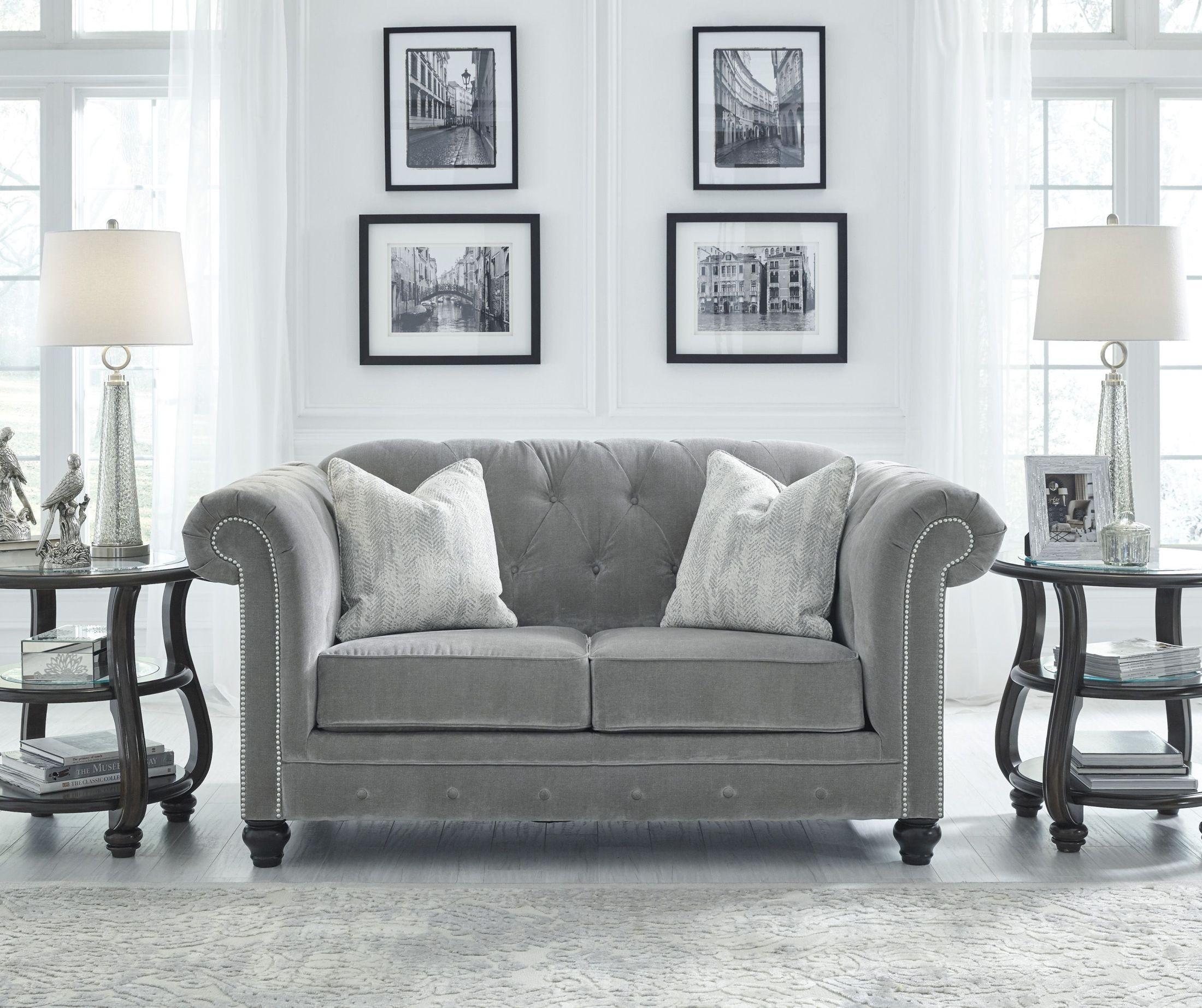 Tiarella Ash Loveseat from Ashley | Coleman Furniture