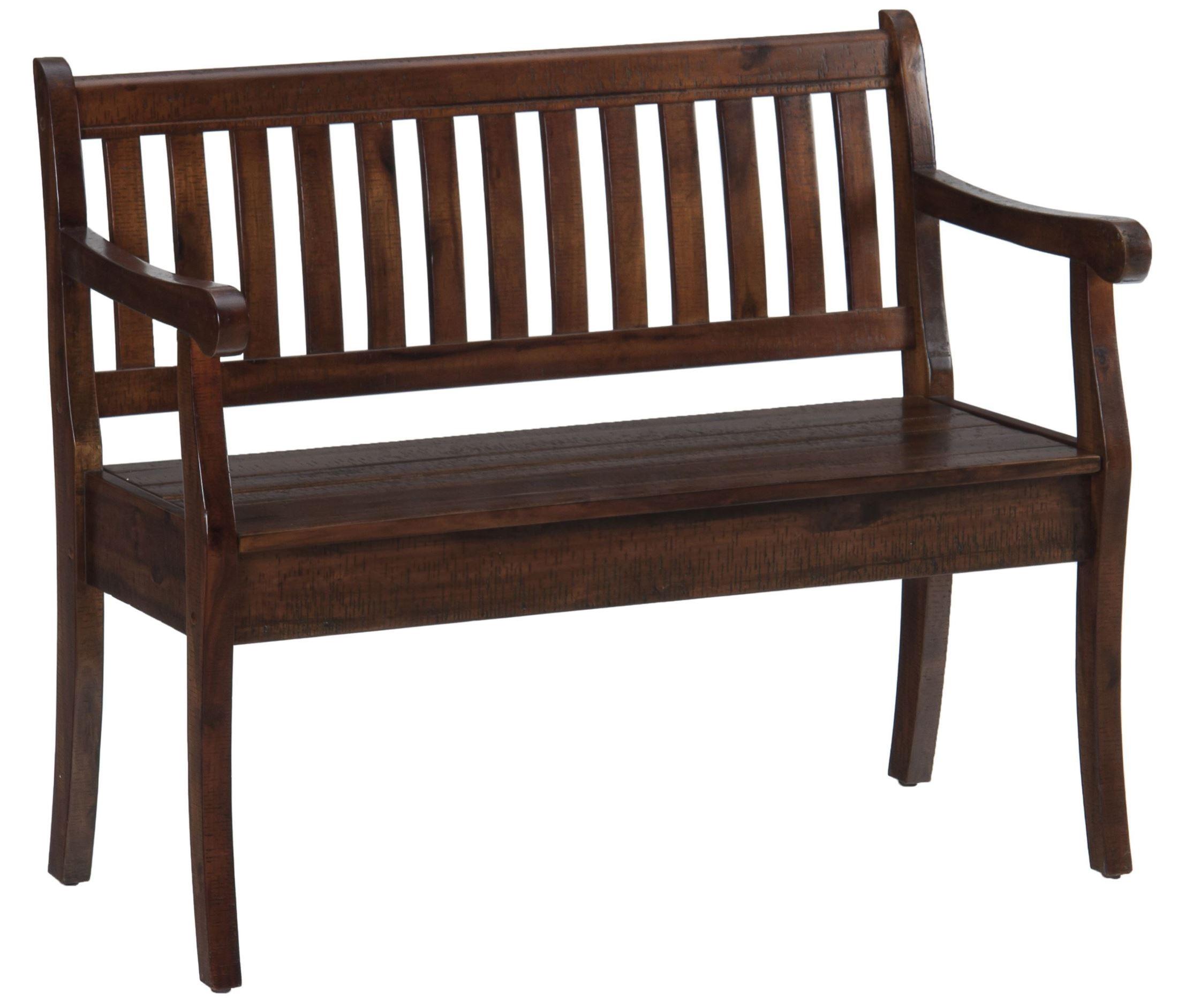 Modus Furniture Urban Seating Storage Bench Natural Linen: Urban Lodge Storage Bench From Jofran