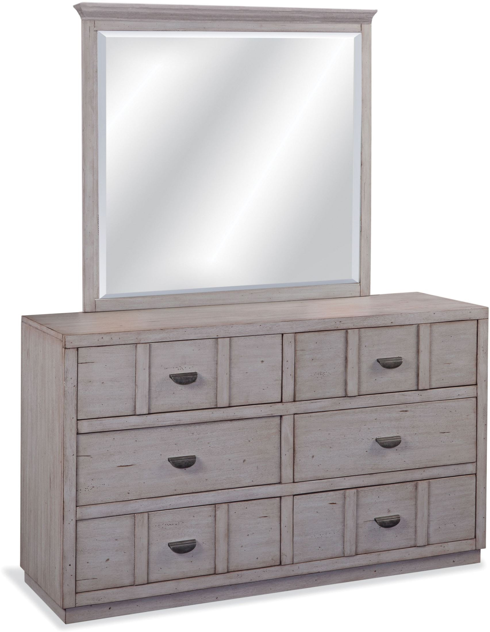 Provo Driftwood Patina Youth Panel Bedroom Set, 7300-970-972-875 ...