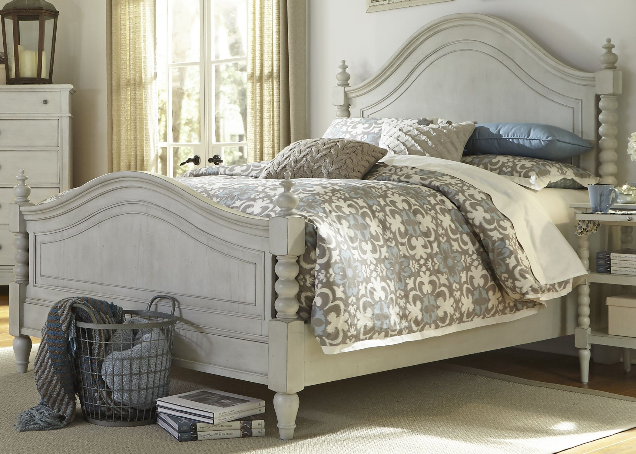 Harbor View III Poster Bedroom Set from Liberty (731-BR-QPS ...