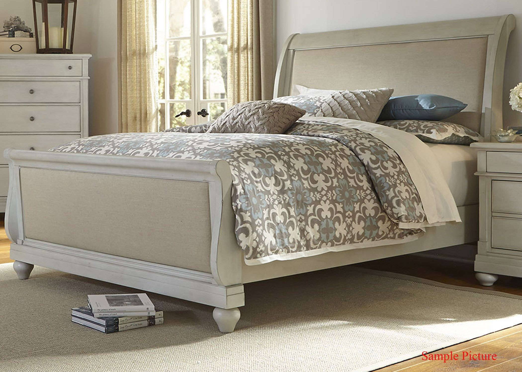 Harbor View Iii Queen Sleigh Bed From Liberty 731 Br Qsl
