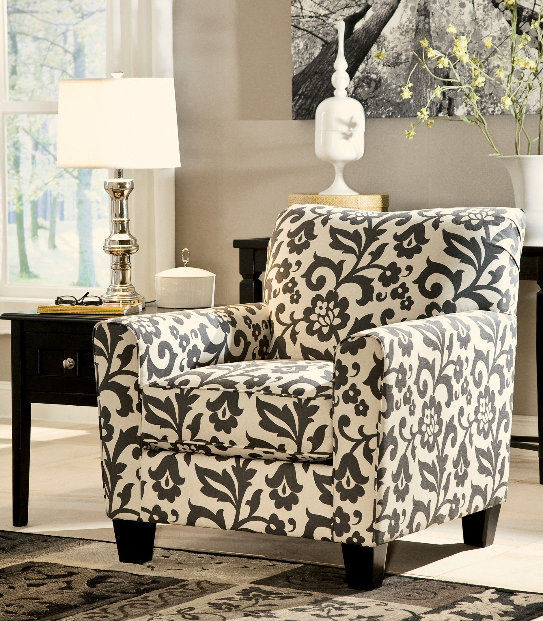 Levon Charcoal Accent Chair from Ashley