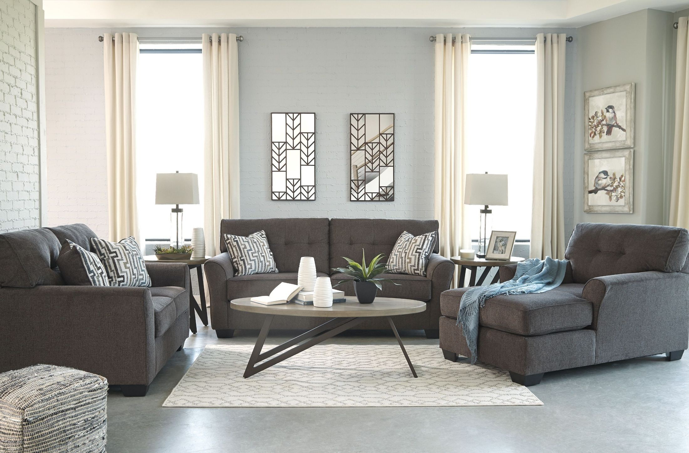 Alsen Granite Living Room Set from Ashley | Coleman Furniture