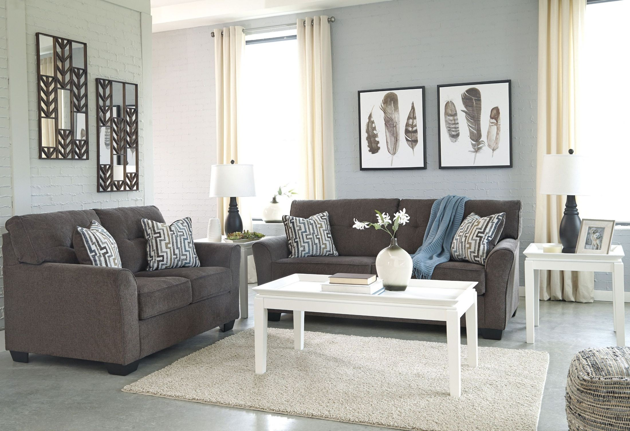 Alsen Granite Living Room Set from Ashley | Coleman Furniture