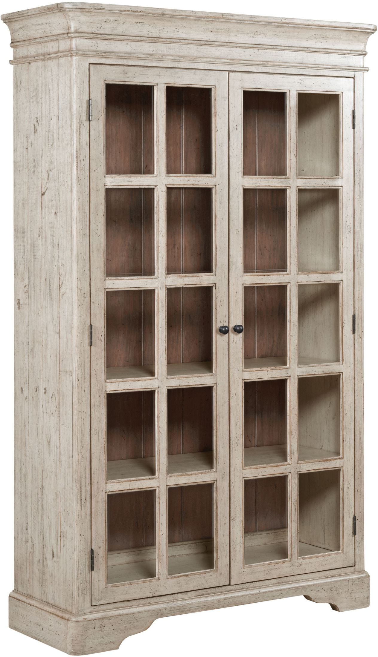 Weatherford Cornsilk Clifton China Cabinet From Kincaid | Coleman Furniture