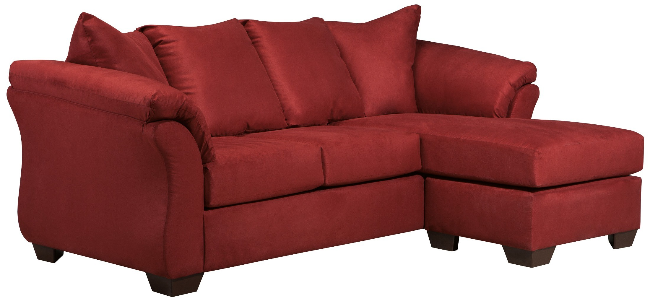 Darcy Salsa Chaise Sectional From Ashley 7500118