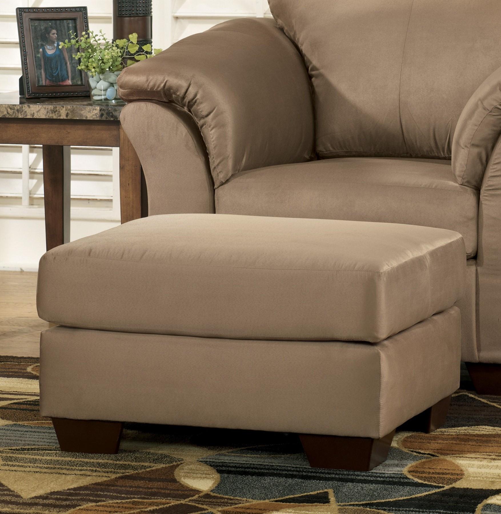 Darcy Mocha Ottoman From Ashley 7500214 Coleman Furniture
