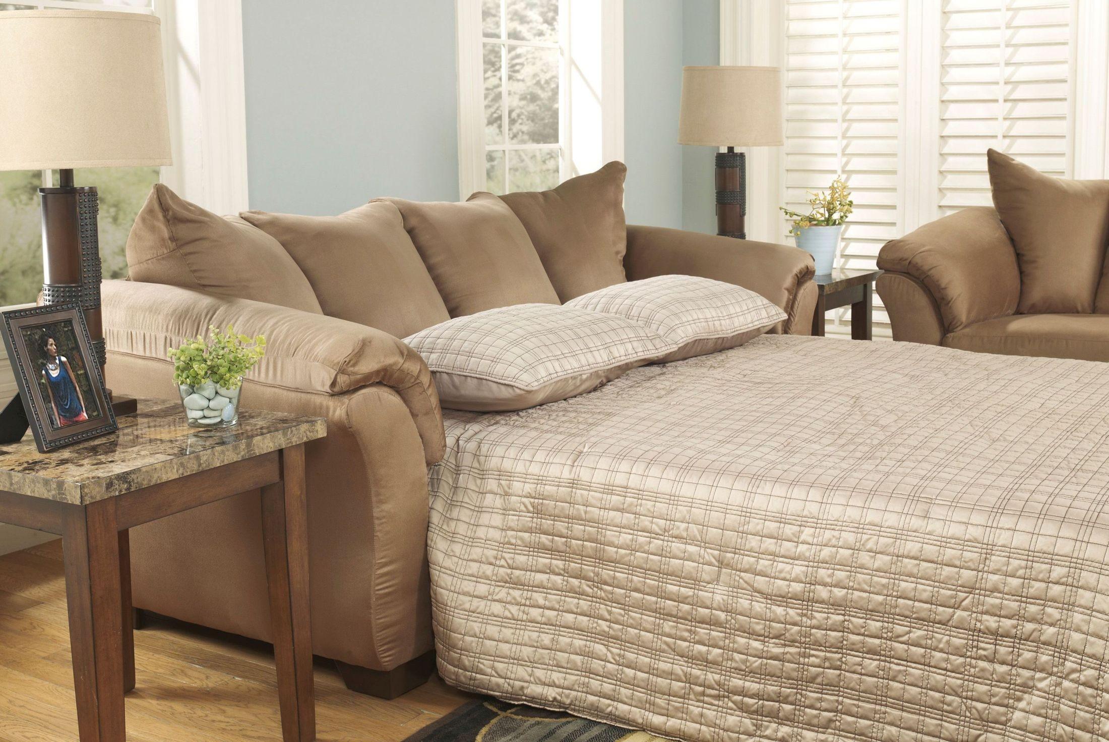 Darcy Mocha Full Sleeper Sofa from Ashley (7500236 ...
