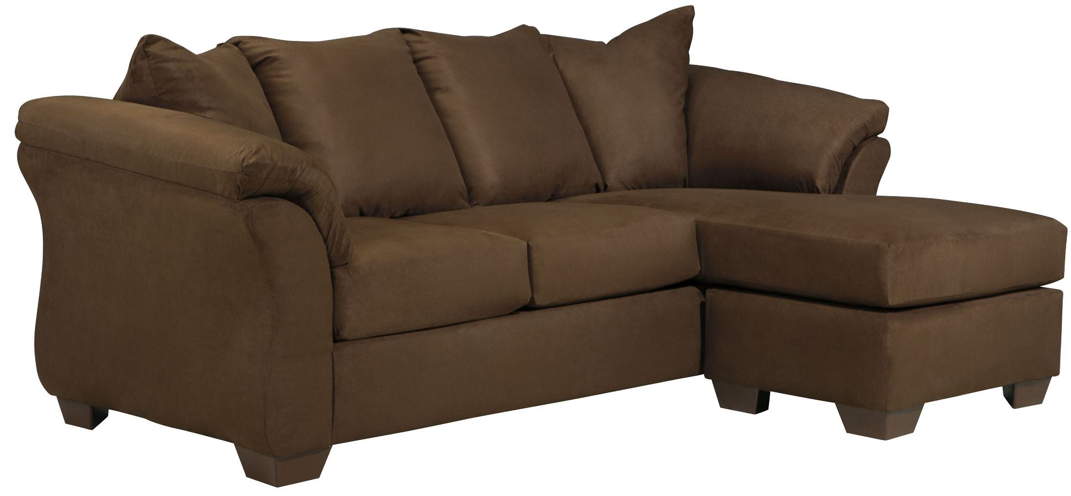 Darcy cafe chaise sectional from ashley 7500418 for Chaise restaurant