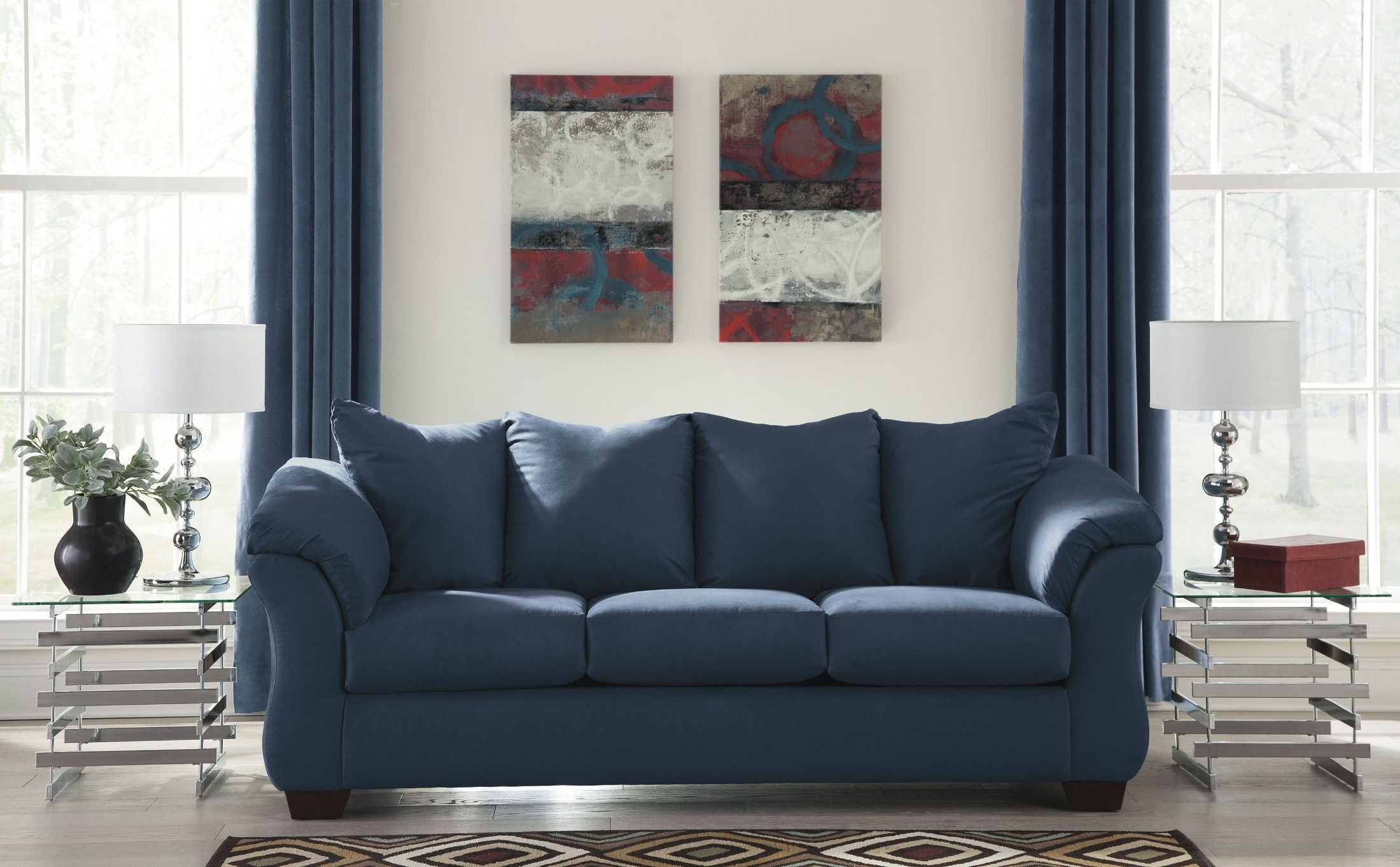 Darcy Blue Sofa from Ashley