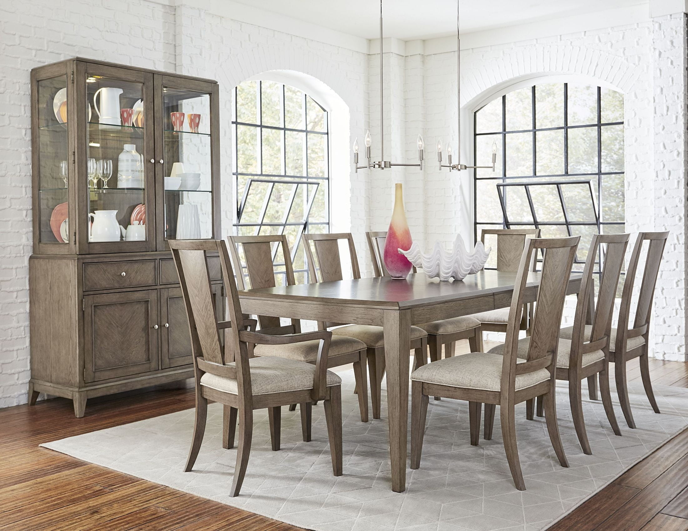 Genial Apex Dusk Extendable Rectangular Leg Dining Room Set From Legacy Classic |  Coleman Furniture