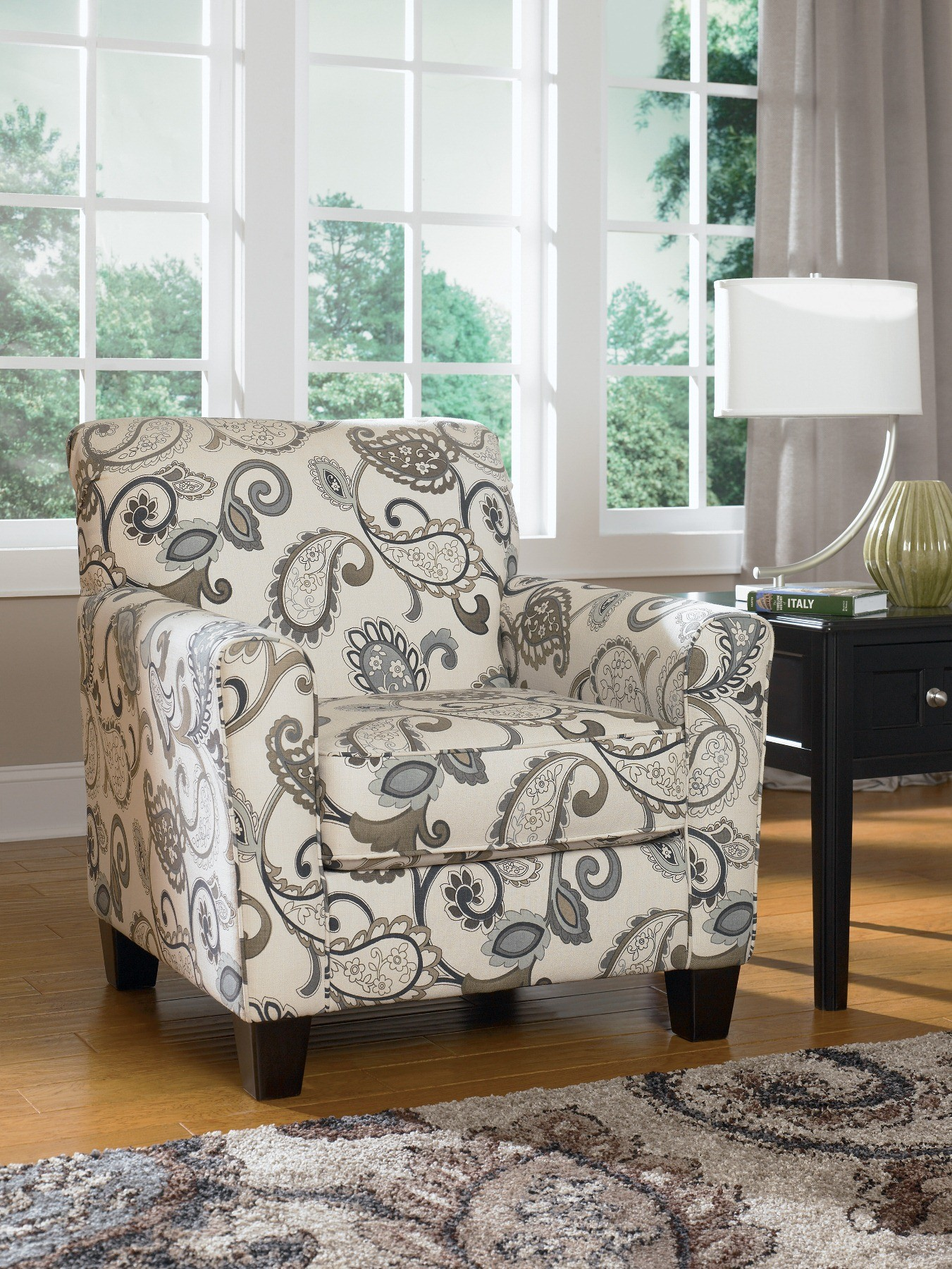 Yvette Steel Accent Chair From Ashley 7790021 Coleman