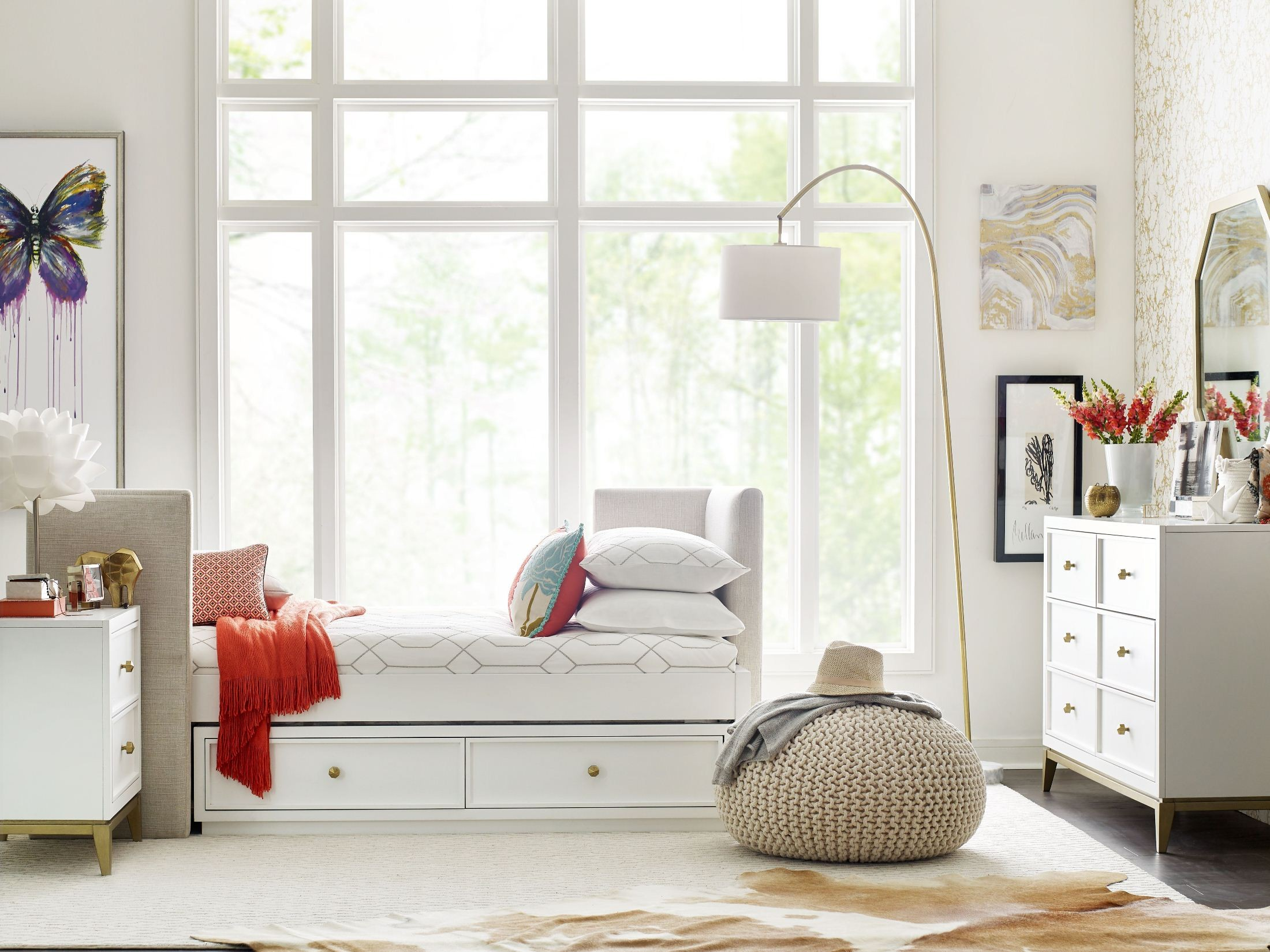 Uptown White Youth Bedroom Set From Rachael Ray Home