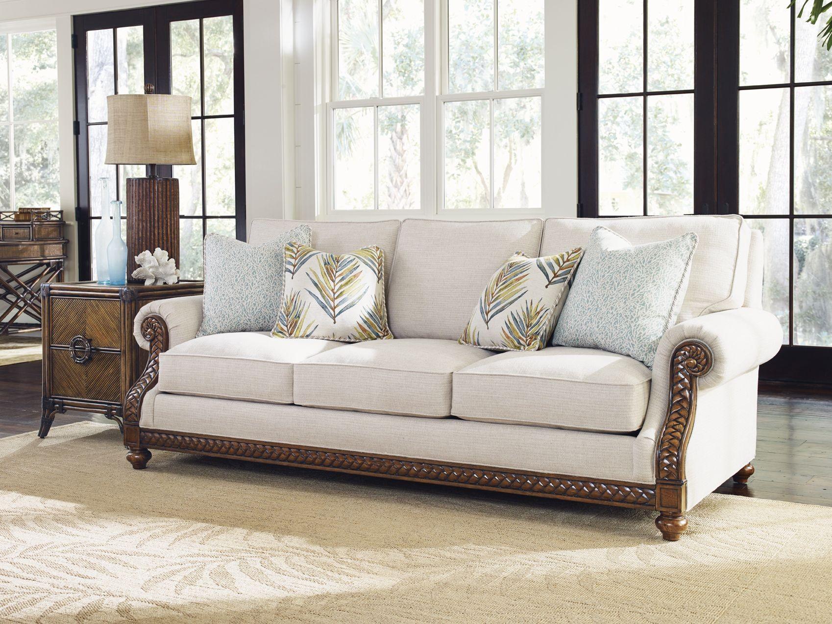 Bali Hai Shoreline Upholstered Living Room Set From Tommy Bahama Coleman Furniture